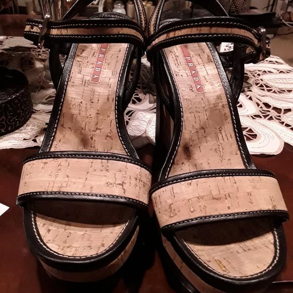 Prada Shoes - Prada wedges